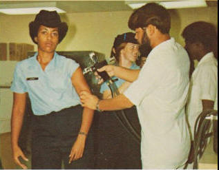 Military Vaccine Jetgun (AIRGUN) Injections